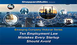 Ten Employment Law Mistakes Every Startup Should Avoid
