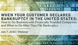 When Your Customer Declares Bankruptcy in the United States: How to Do Business with Financially Troubled Companies, and What to Do After They File Bankruptcy