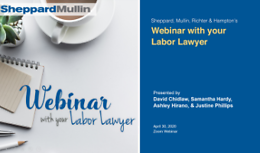 Webinar With Your Labor Lawyer - San Diego