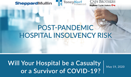 Post-Pandemic Hospital Insolvency Risk