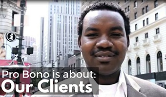 Pro Bono is About Our Clients