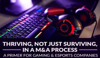 Thriving, Not Just Surviving, in a MA Process - A primer for Gaming and Esports Companies
