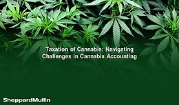 Cannabis Webinar Wednesday: Taxation of Cannabis: Navigating Challenges in Cannabis Accounting