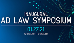 Inaugural Ad Law Symposium